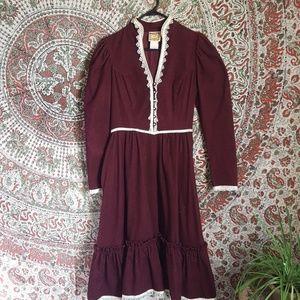 Gunne Sax dress vintage size 9